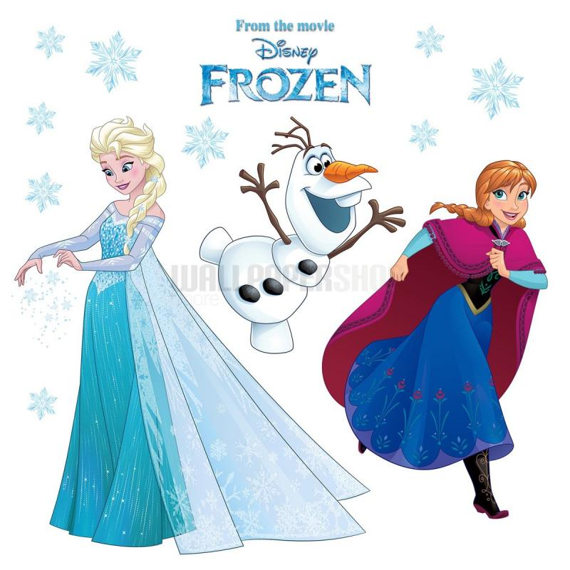 Frozen Snowflake Window Disney Sticker No 31106