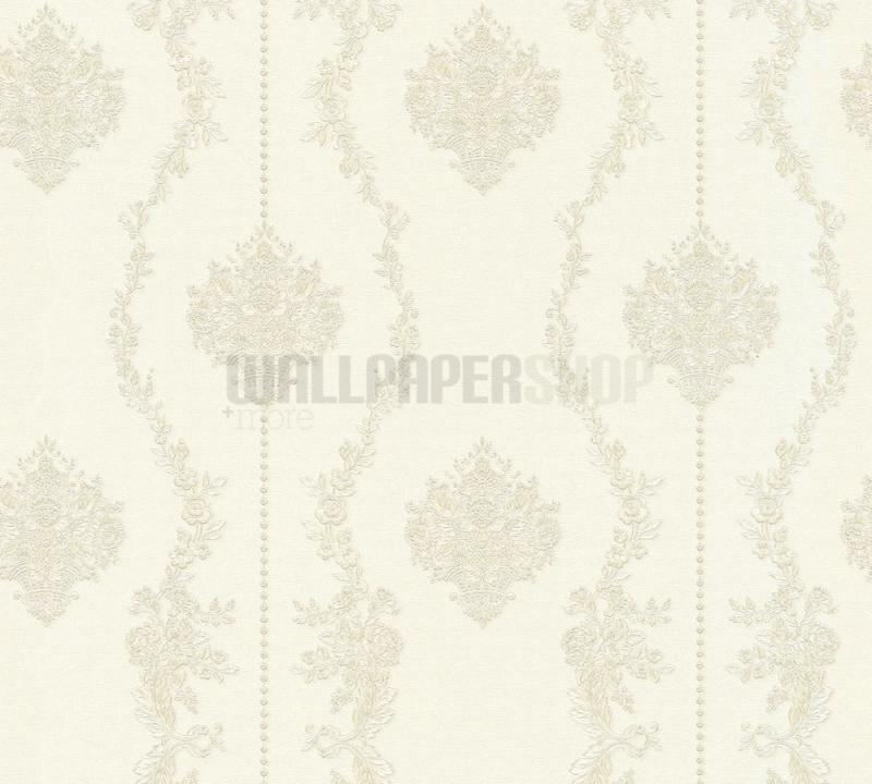 Chateau Light Grey Wallpaper No 31468