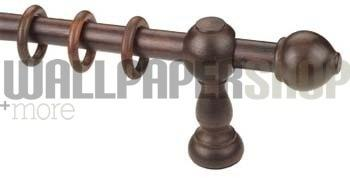 Walnut Curtain Rod No 14742