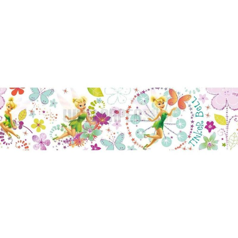 Tinkerbell Fairytale Garden Border Multi No 31215