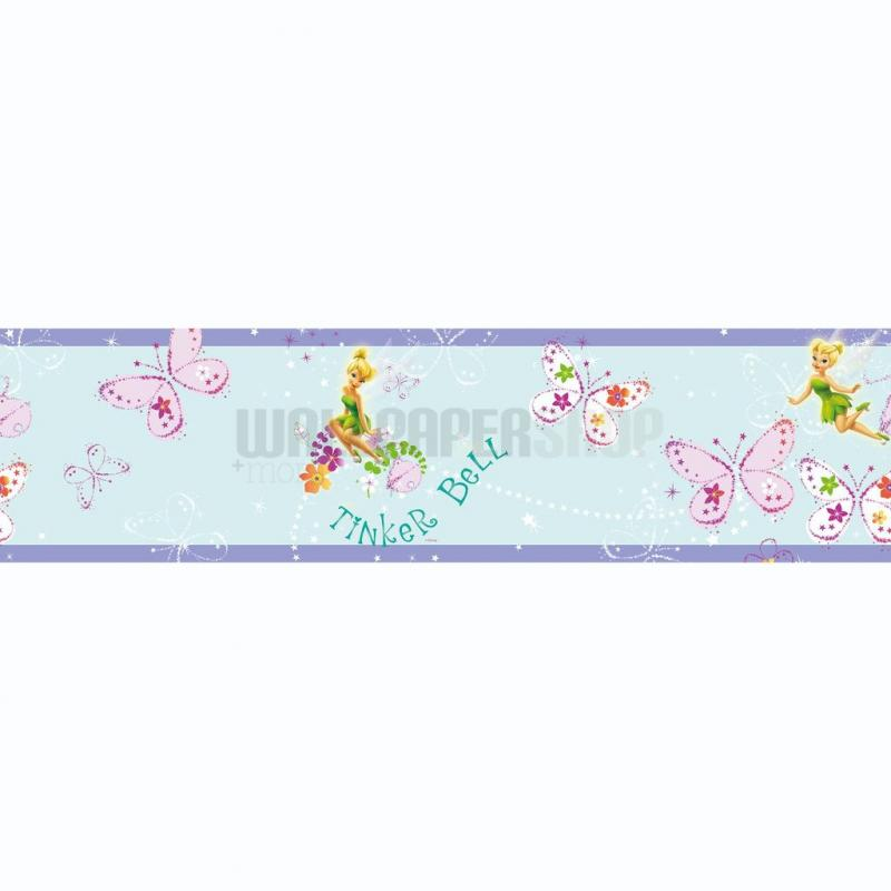 Tinkerbell Fairytale Garden Border Multi No 31219