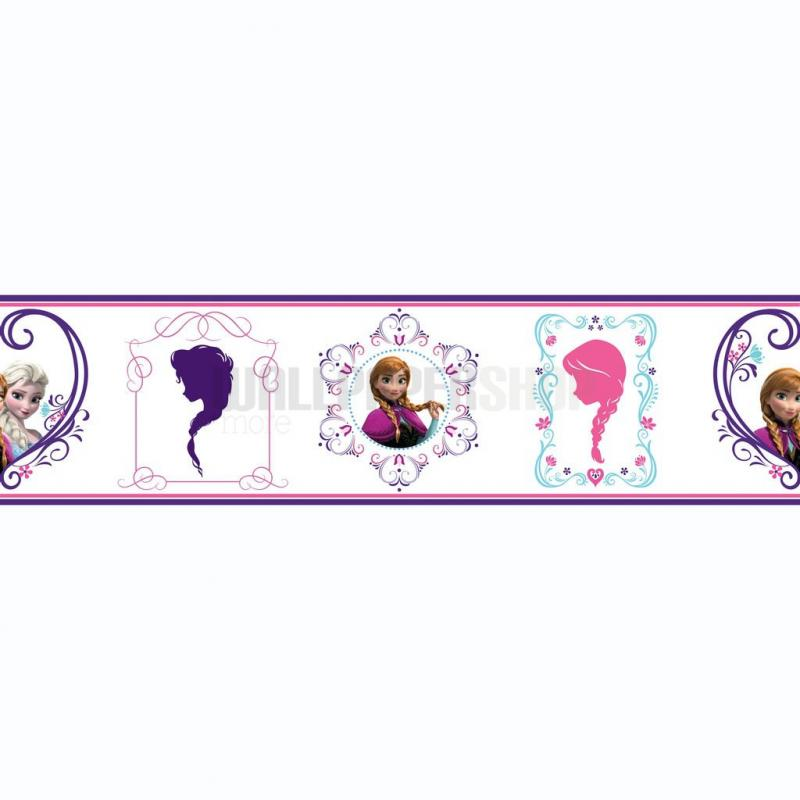 Frozen Frames Border Purple No 31223