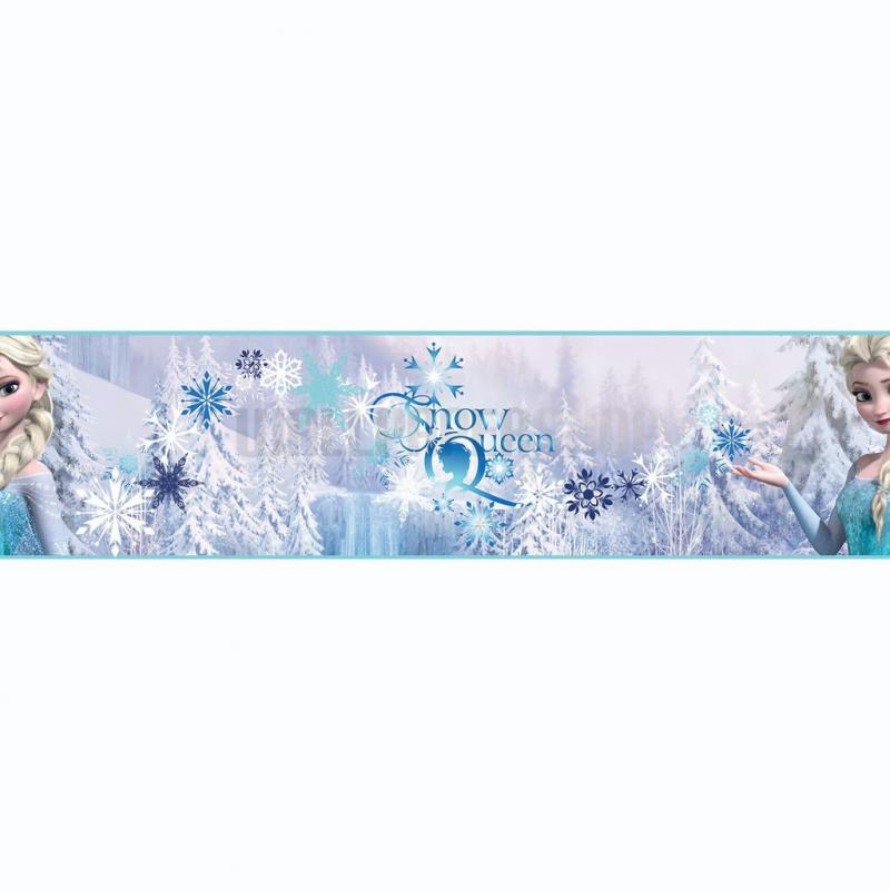 Frozen Snow Queen Border Multi No 31224