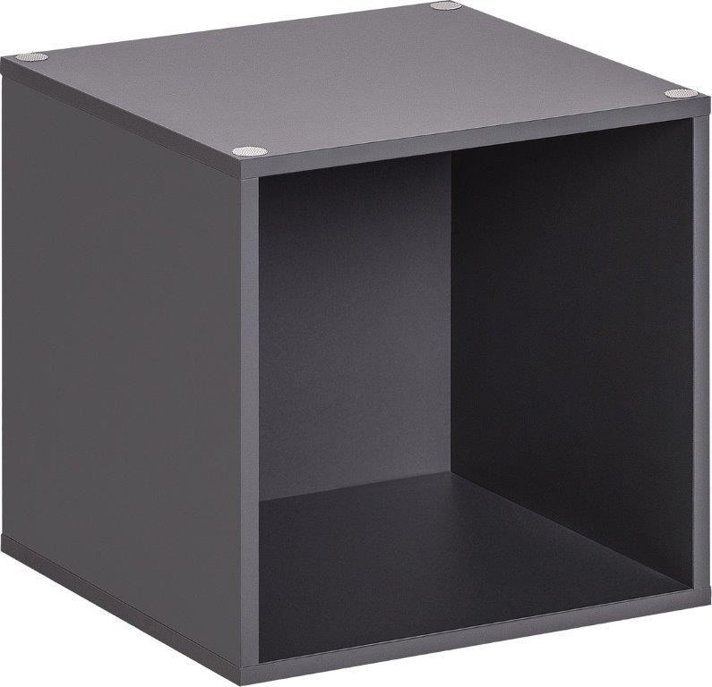 Ανοικτό Κουτί Αποθήκευσης Μεσαίο Μαύρο No 55022