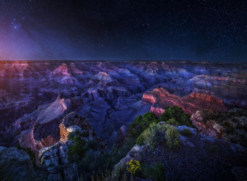 Grand Canyon Night No 26018