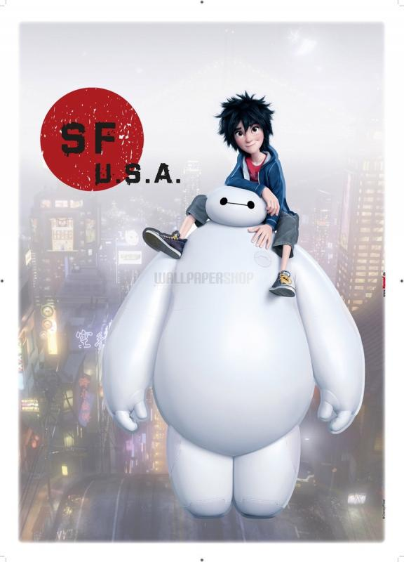 Baymax Sticker No 31022