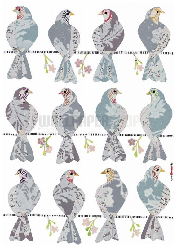 Doves Stickers No 31060