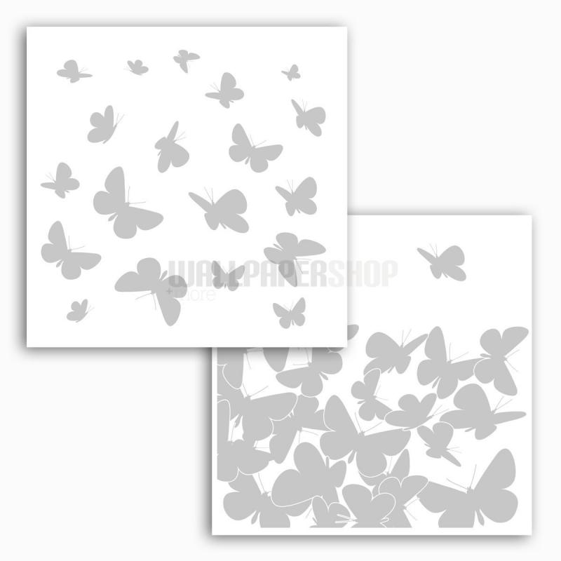 Butterflies Window Sticker No 31093