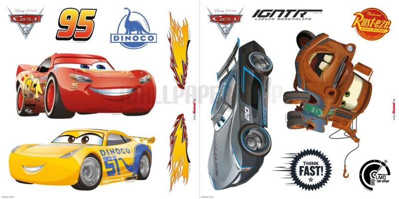 Cars3 Window Disney Sticker No 31096
