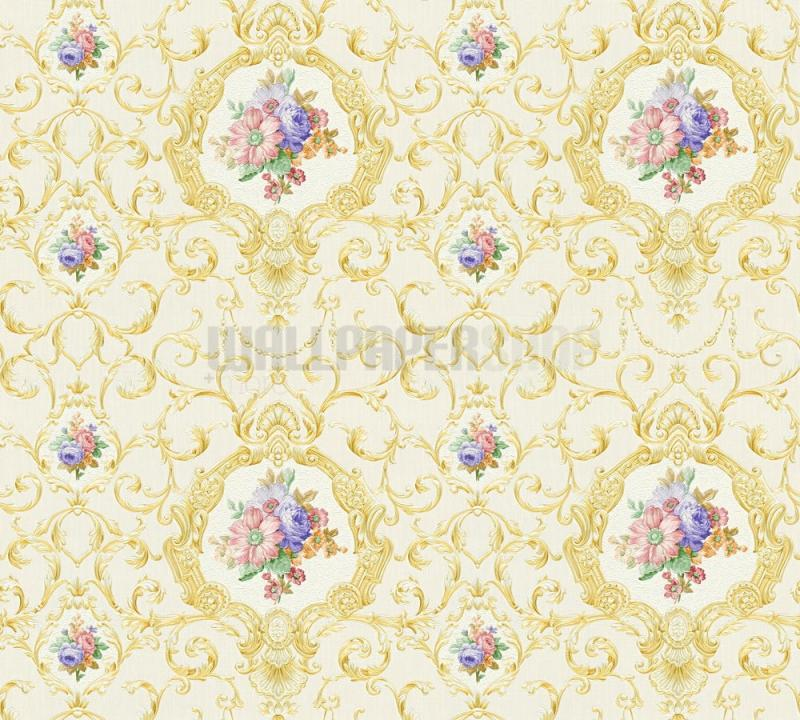 Chateau Light Gold Wallpaper No 31442
