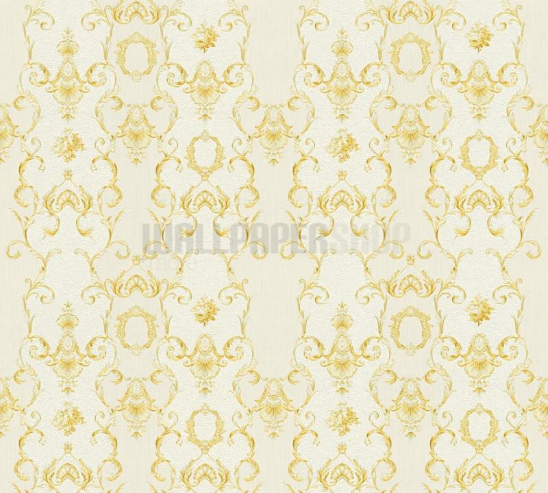 Chateau Light Gold Wallpaper No 31448