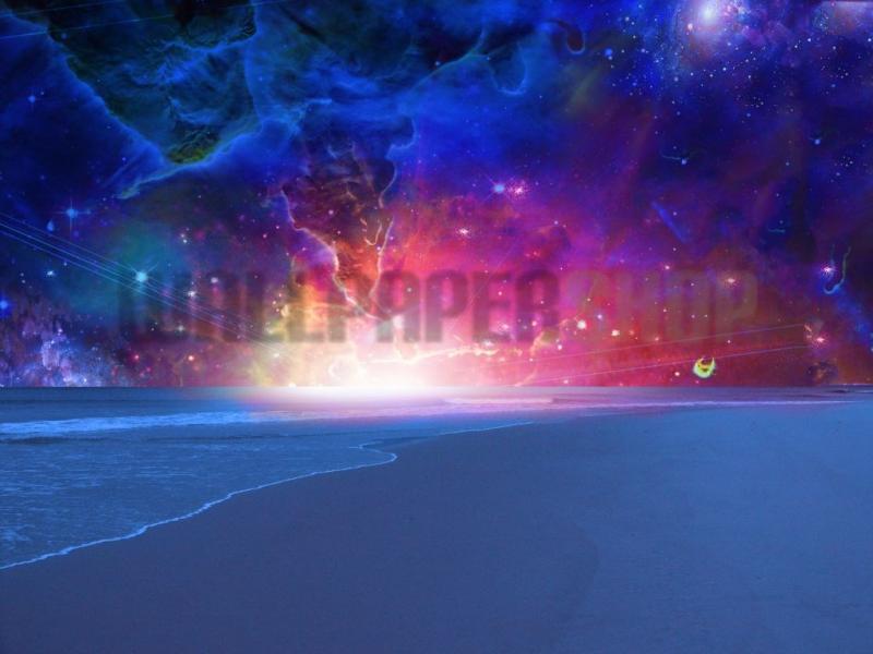 Digital Walls Surreal Sea No 5328