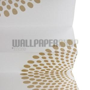 Pleated Blinds Design 50mm Gold No 13874