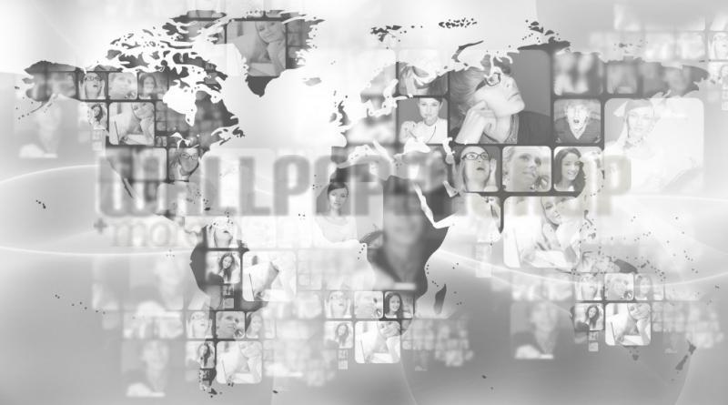 Digital Walls World Map II No 5154